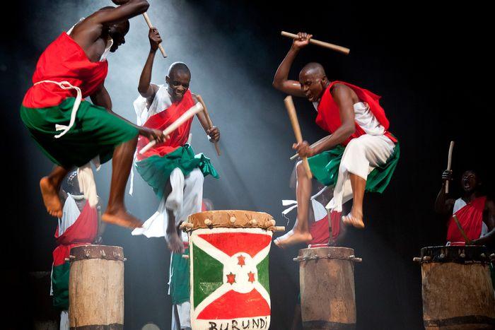 Image for Tamburi del Burundi:un finale travolgente