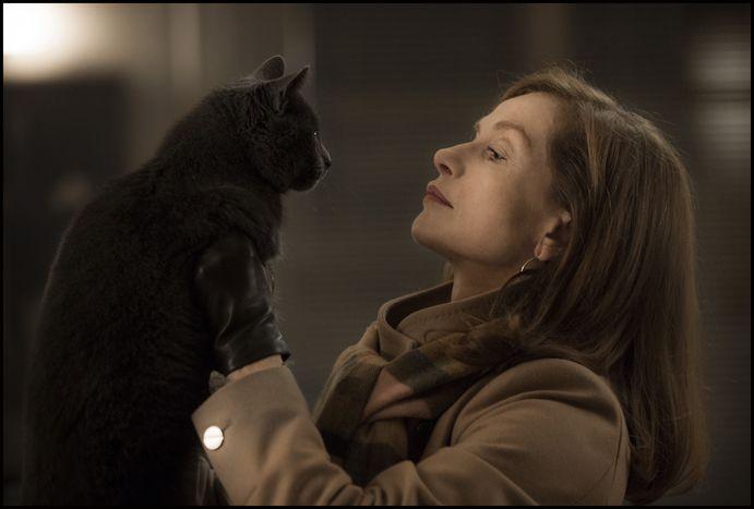"""Image for Isabelle Huppert, femme fatale in """"Elle"""""""
