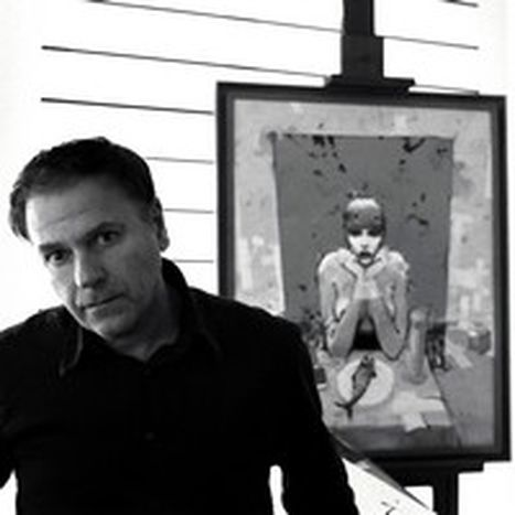 Image for Enki Bilal: 'My cartoons evoke a past out of step with reality'