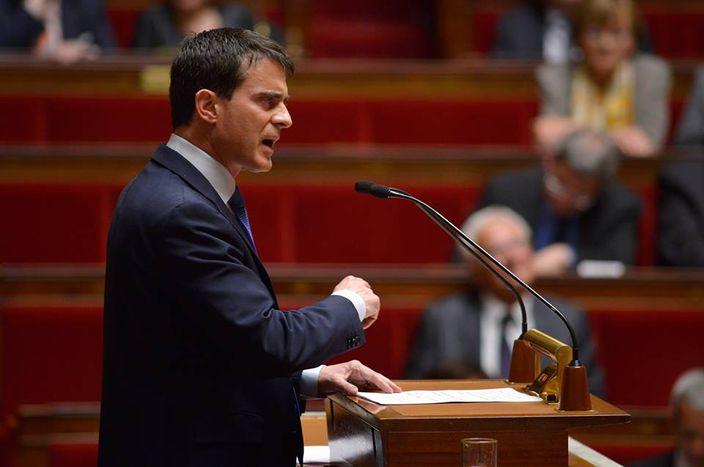 Image for Manuel Valls et l'assemblée des frondeurs