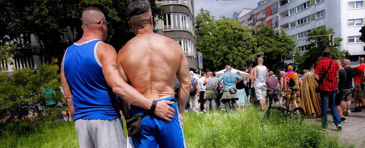 Image for European Pride in Berlin: Den Regen gebogen
