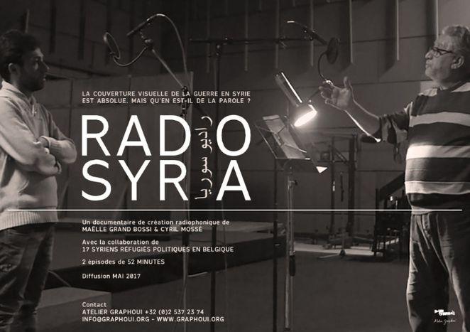 """Image for """"Radio Syria"""", un premier épisode pour donner la parole"""