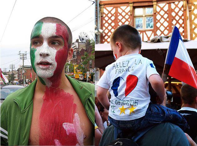 Image for Frankreich - Italien: Von Kopfstößen und Herzklopfen