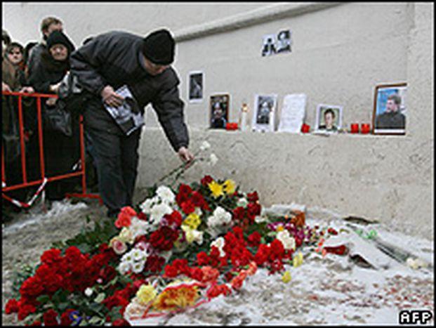 Image for Anastasia Baburova Killed in Russia