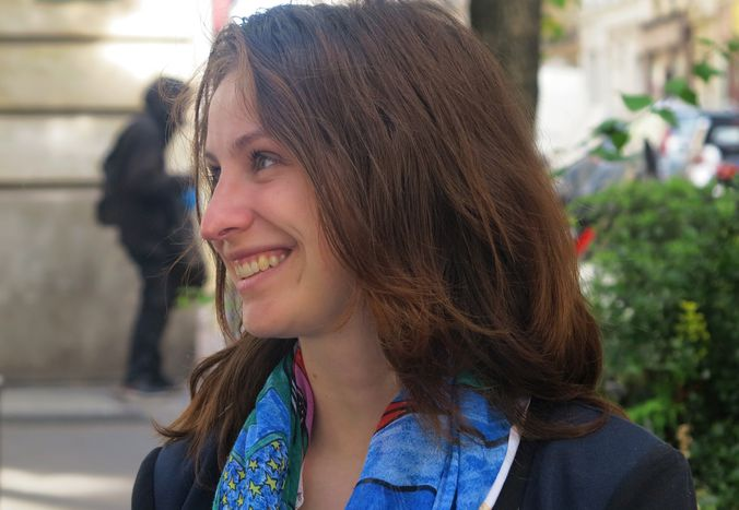 Image for Clarisse Heusquin : la candidate toute verte