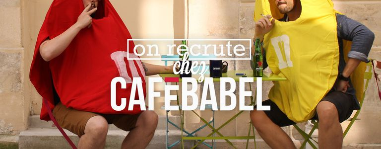 Image for Cafébabel is recruiting! Webmaster/Graphic designer (Apply before 19 September 2016) (POSITION FILLED)
