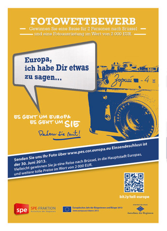 """Image for Cafébabel präsentiert den Fotowettbewerb """"Europa, ich habe Dir etwas zu sagen!"""""""