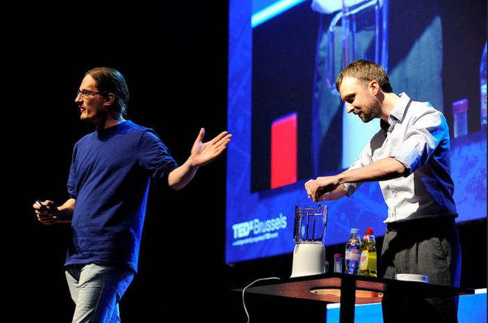 Image for TEDxBrussels: Redefining the way to do science