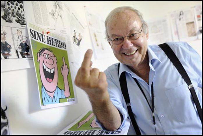 Image for Siné : « Le rôle de la satire est d'être iconoclaste »