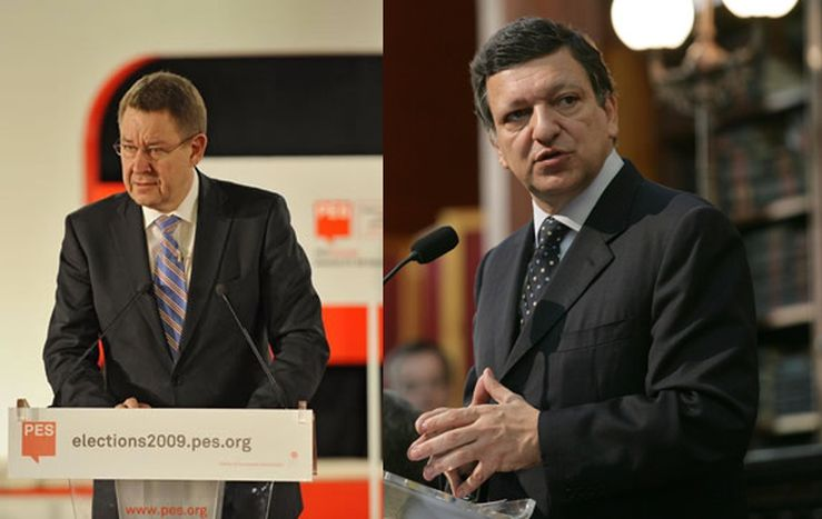 Image for G20 di Londra: Rasmussen contro Barroso