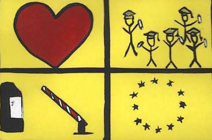 Image for Eurocartoons : giovani europei disegnano l'Ue e la cittadinanza