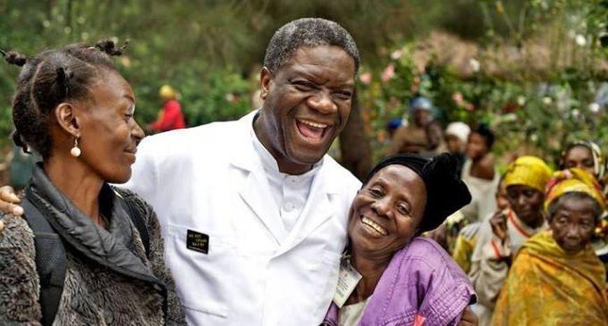Image for L'engagement de Mukwege, Prix Sakharov 2014