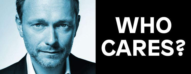 Image for Who cares? Christian Lindner is hot