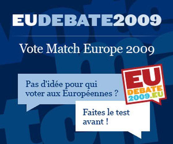 Image for PAS D'IDEE POUR QUI VOTER AUX EUROPEENNES ? Faites le test !