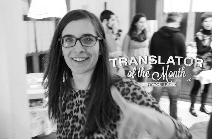 Image for La traductrice du mois : Chiara Mazzi