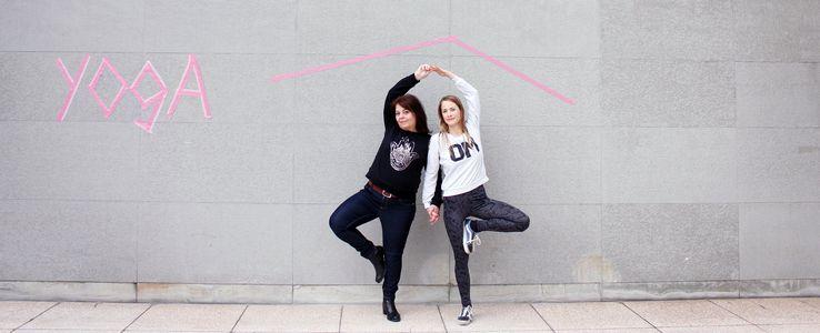 Image for Sonnengruß gegen Kälte: Yoga für geflüchtete Frauen
