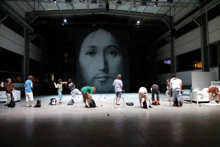 Image for Euro-scene a Lipsia: teatro di frontiera tra est e ovest