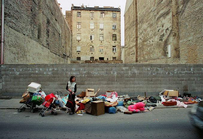 Image for City planning in Budapest: making poverty invisible