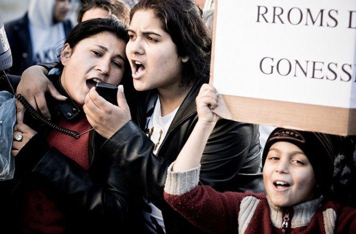 Image for Rroms en France: le ton monte au parlement européen