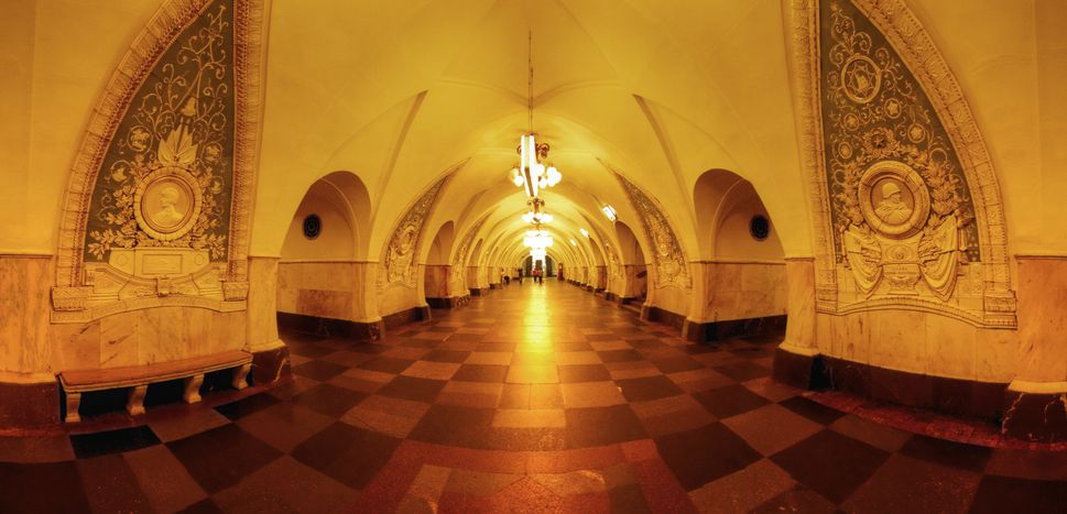 Image for Fingers chopped off andlegs smashed in: The Moscow Metro
