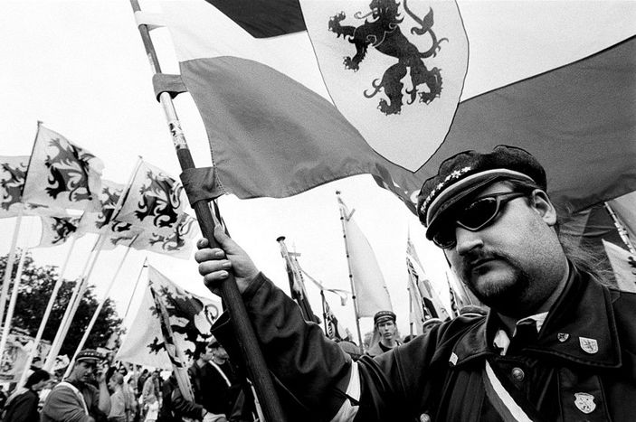 Image for Flanders: 'I am a separatist, not a skinhead' (9 photos)