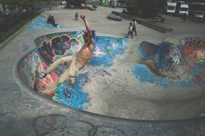 Image for Skatepark w cieniu Parlamentu Europejskiego