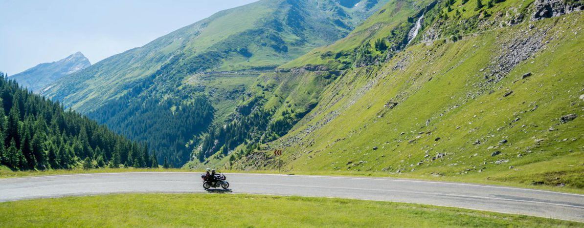 Image for Women motorcyclists conquering Europe