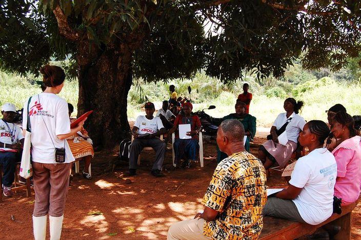 Image for Fighting Ebola in Sierra Leone