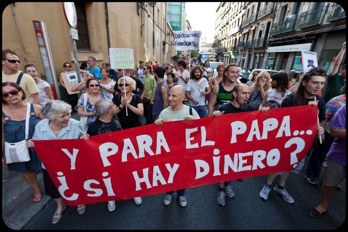 Image for Visita del Papa Benedicto XVI a España: Habemus polémica(m)