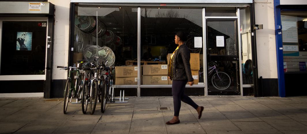 Image for Londyński Bike Project: daj się karnąć uchodźcy