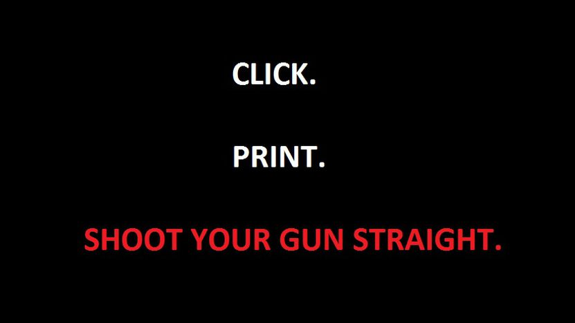 Image for CLICK. PRINT. SHOOT.