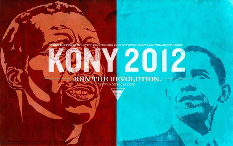 Image for Kony 2012 facebook campaign: no, he's not running against Obama