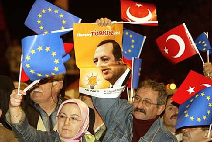 Image for Something's stirring between Turkey and the EU