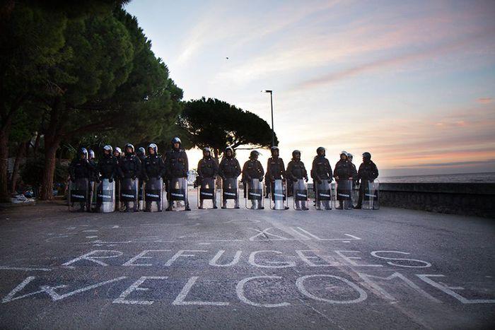 Image for Manifestazionedi solidarietà per lo sgombero del Presidio No Borders di Ventimiglia: Firenze c'è!