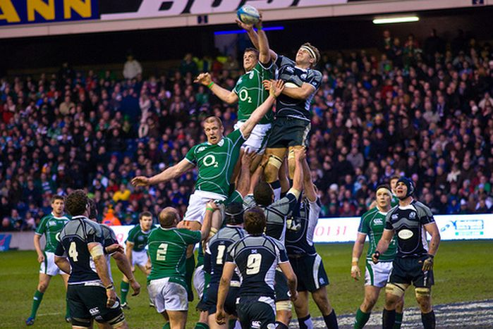 Image for Blow by blow: Irish sky over Six Nations rugby
