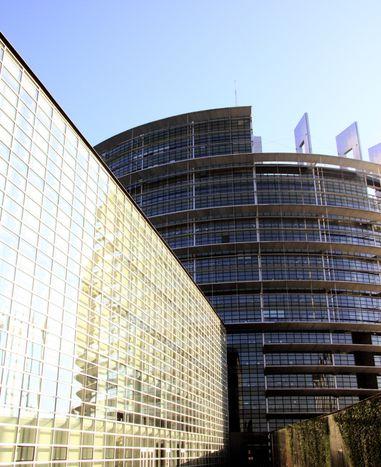 Image for Se hunde el techo del Parlamento Europeo