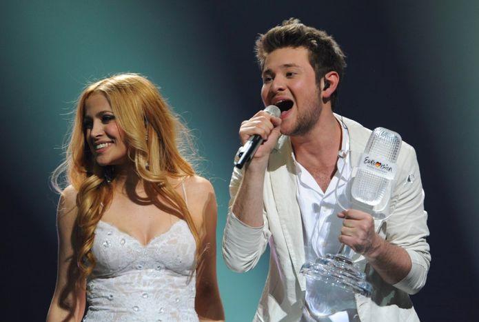Image for 2011 win for Azerbaijan: Eurovision returns east