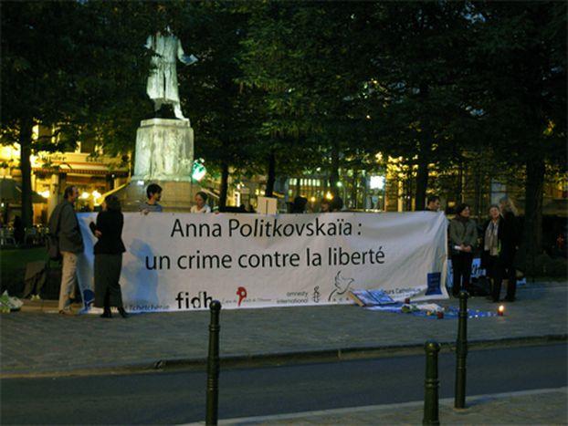 Image for Hommage à Anna Politkovskaïa