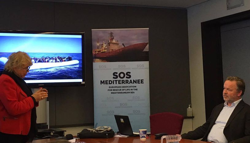 Image for SOS Méditerranée: Civil society has taken action where Europe has failed to do so