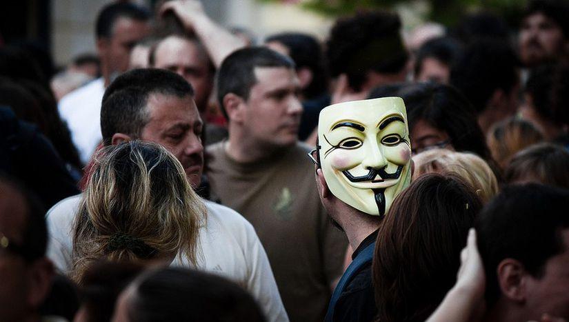 """Image for Occupy in Spanien: """"Wir halten die Bewegung lebendig"""""""
