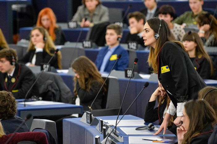 Image for Euroscola, or how to be an MEP at 17 years old