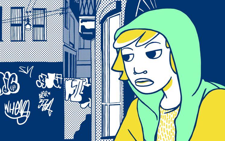 Image for Lucia Biagi: diventare grandi a Torino a suon di fumetti
