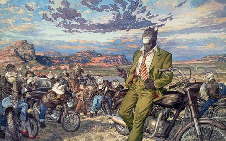 """Image for Juanjo Guarnido, Premio Nacional de Cómic 2014: """"Dibujar es trazar el universo con una línea"""""""