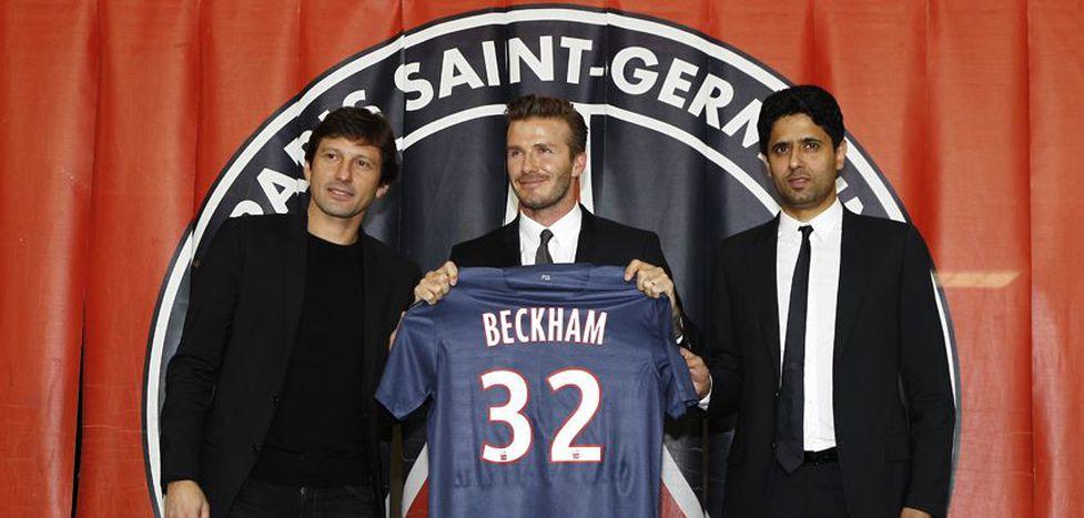 Image for David Beckham al PSG: il calcio fuori gioco
