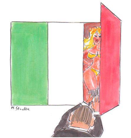 Image for Bunga bunga: farlo in Europa con Silvio