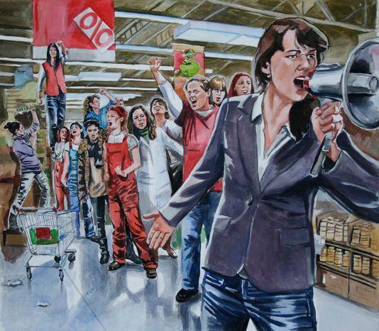 Image for Revolución feminista en croacia: todas a una