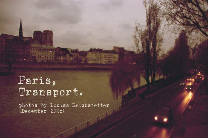 Image for Photos: Paris, transport and fresh air