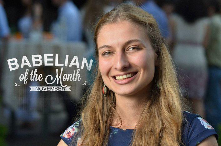 Image for La Babélienne du mois: Nevena Borisova