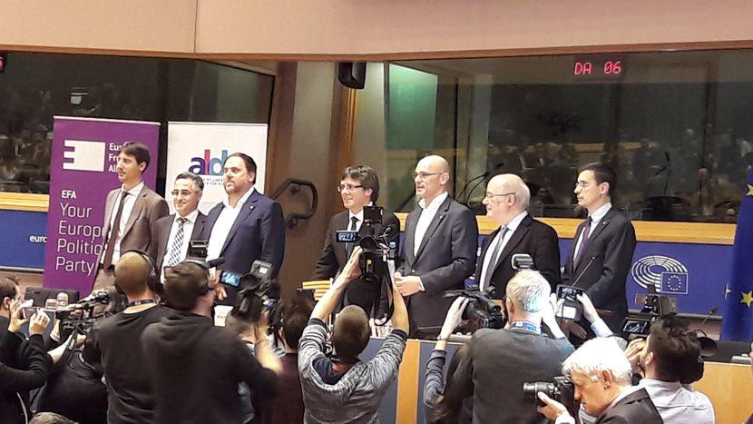 Image for Puigdemont y su mensaje para Europa