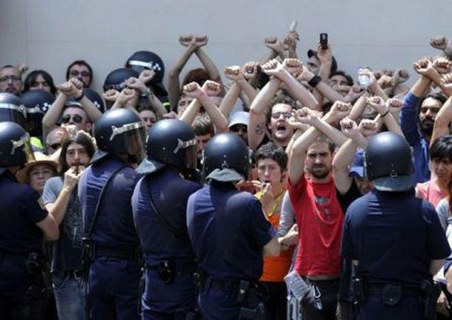 Image for Die spanische Protestbewegung – eine Facebook-Revolution?